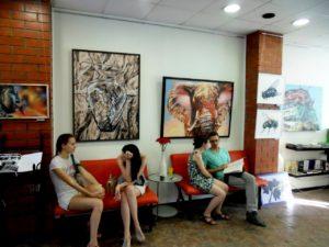 выставка художника георгия титунина аэрография