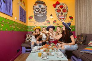 роспись в стиле мексика