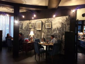 Идеи дизайна кафе, Старая Москва