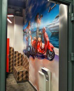Уборная, Девушки и море, идеи для дизайна туалета
