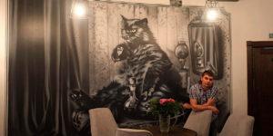 кот бегемот квартира 50 булгаков роспись стен