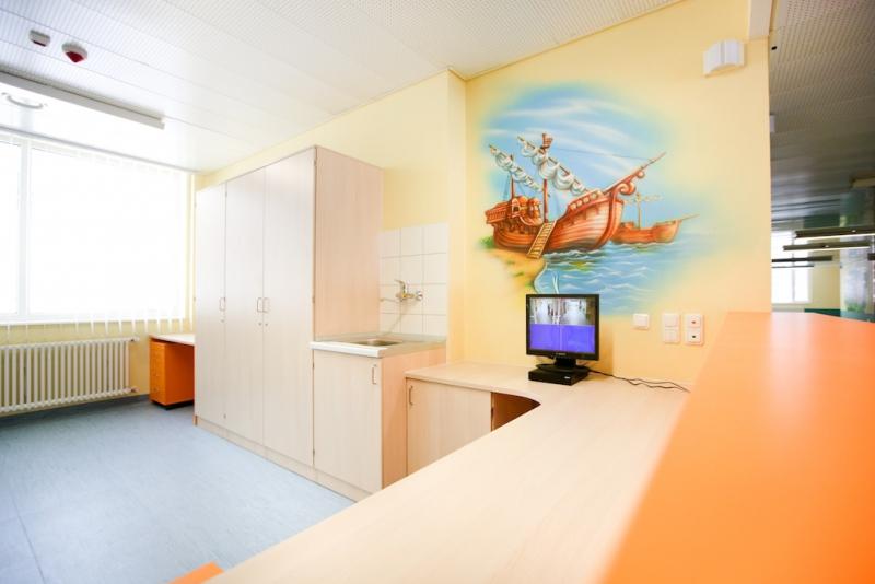 роспись стен фото в поликлинике