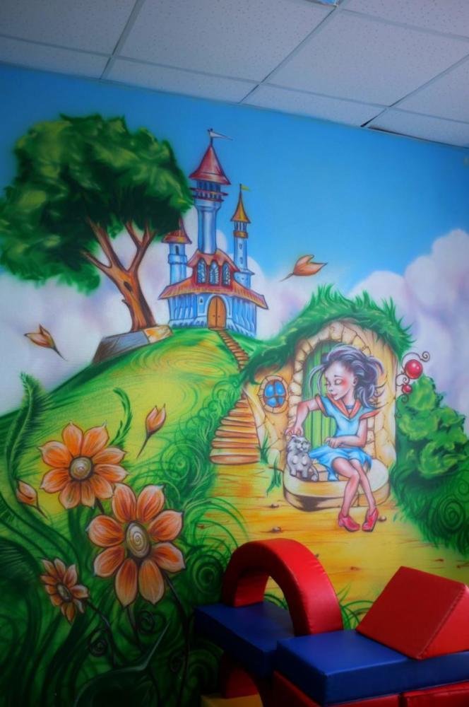 детская комната идеи сказочный замок